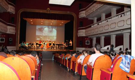 Concierto pedagógico de profesores en el Teatro Ideal de Calahorra – 11 de Mayo