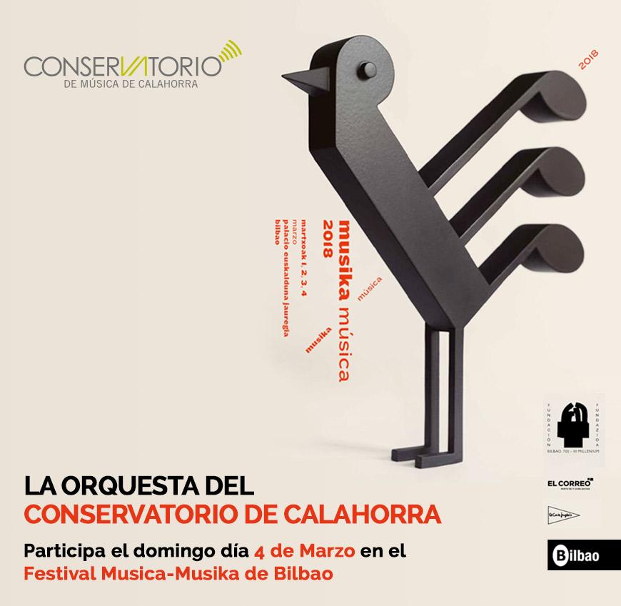 Festival musica musika bilbao conservatorio de calahorra - Conservatorio musica bilbao ...