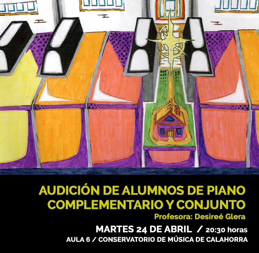 Audición alumnos Piano Complementario y Conjunto