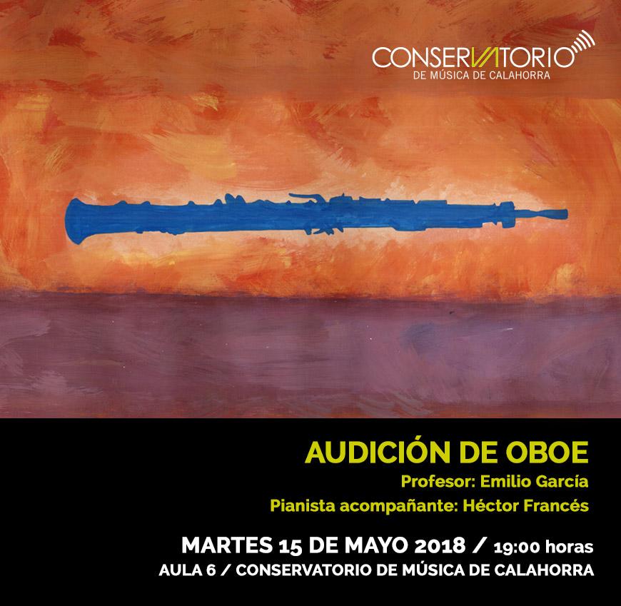 Audicion oboe
