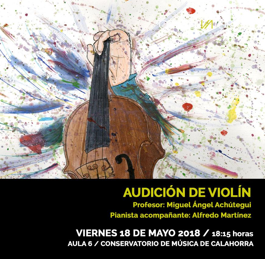 Audicion violin