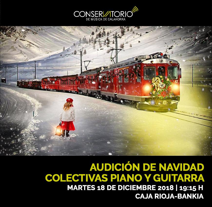 Audición de Navidad Colectivas Piano y Guitarra